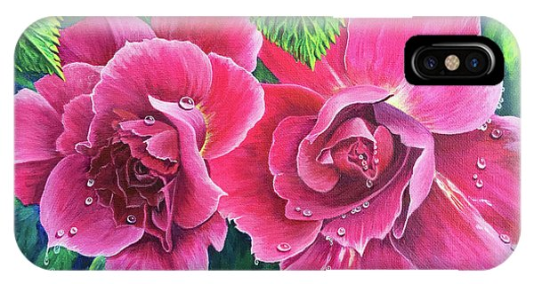 Blossum Buddies IPhone Case