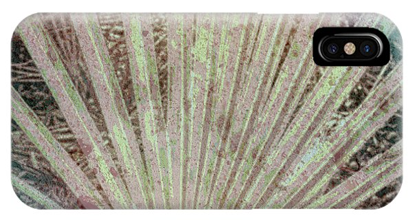 Cypress iPhone Case - Blotch Palm Frond by Marvin Spates