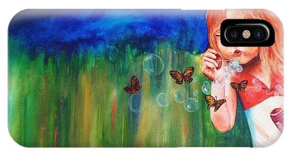 Blowing Butterflies Phone Case by Ned M Stacey Sr