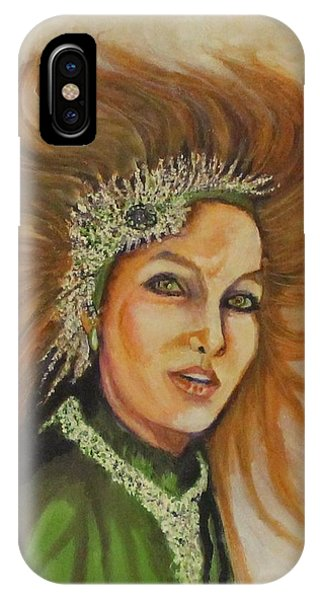 Blowing In The Wind IPhone Case