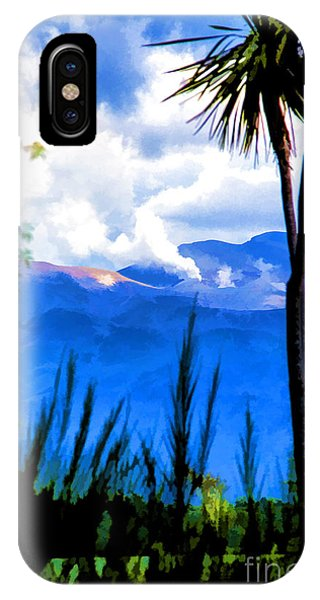 Blowing Steam IPhone Case