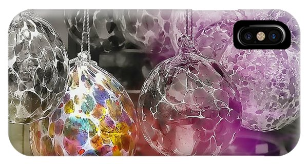 Blown Glass Ornaments IPhone Case