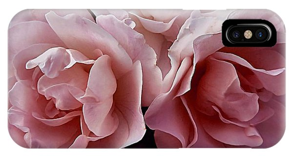 Blowsy Roses IPhone Case
