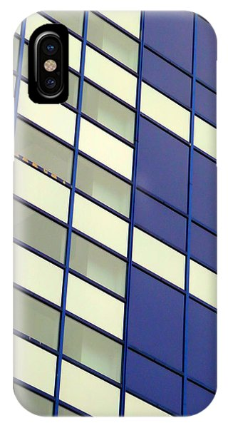 Blue 1114 IPhone Case