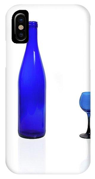 Blue  #2438 IPhone Case