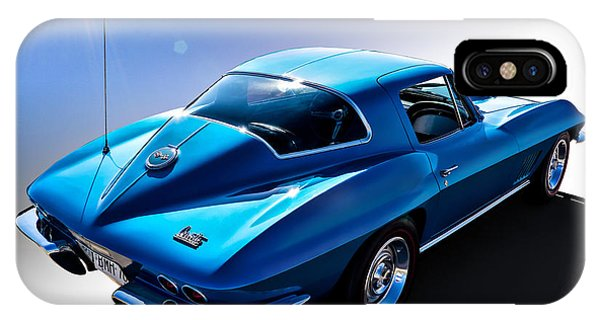 Chevrolet iPhone Case - Blue '67  by Douglas Pittman