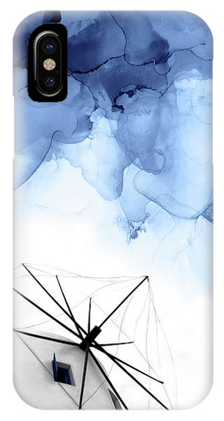 Traveler iPhone Case - Stormy Weather II by PrintsProject