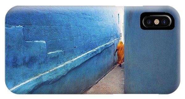 Blue Alleyway IPhone Case