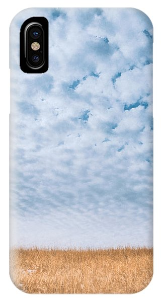Amber iPhone Case - Blue And Amber by Scott Norris