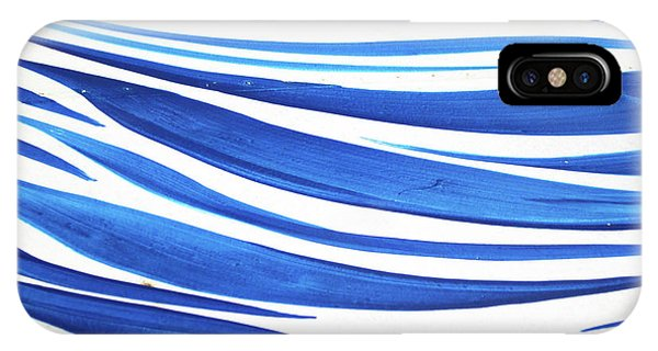 Blue And White No. 1 IPhone Case