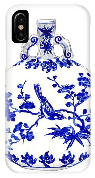 Cobalt Blue iPhone Case - Blue And White Ginger Jar Chinoiserie 6 by Laura Row