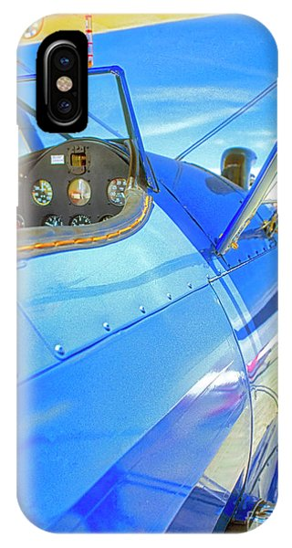 Blue And Yellow Bi Wing  IPhone Case