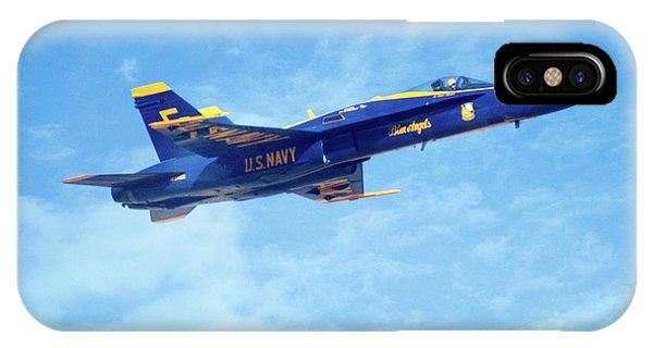 Blue Angel #5 In Arizona IPhone Case