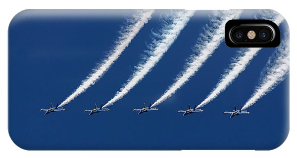 Blue Angels Formation IPhone Case