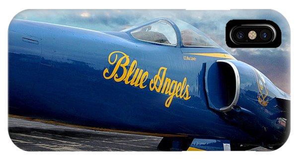 Blue Angels Grumman F11 IPhone Case