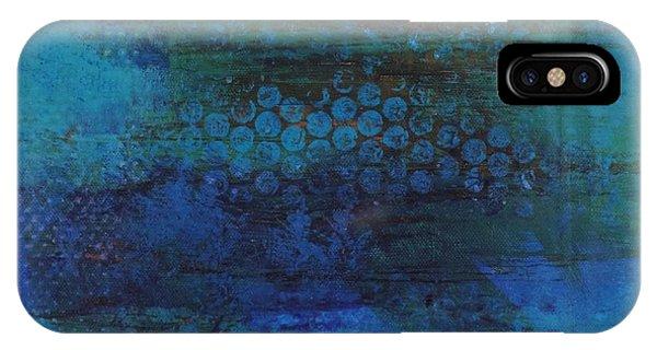 Awakening iPhone Case - Blue Awakening by Bill Tomsa
