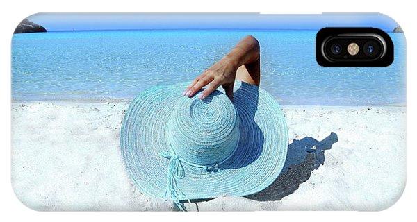Blue Beach IPhone Case