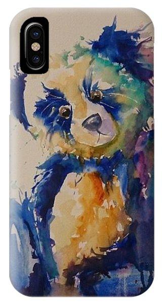 Blue Bear IPhone Case