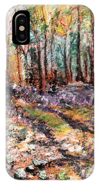 Blue Bell Woods IPhone Case
