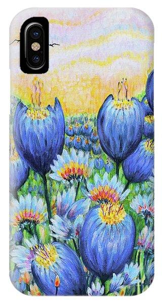 Blue Belles IPhone Case