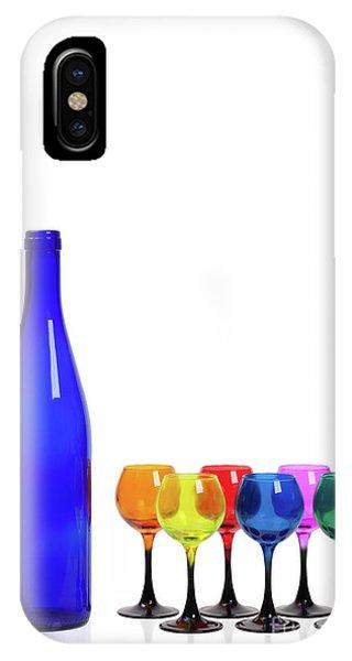 Blue Bottle #2429 IPhone Case