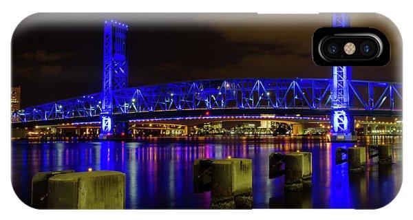 Blue Bridge 1 IPhone Case