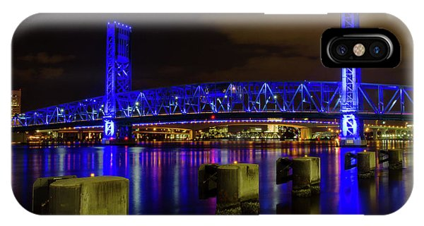 Blue Bridge 1 IPhone Case