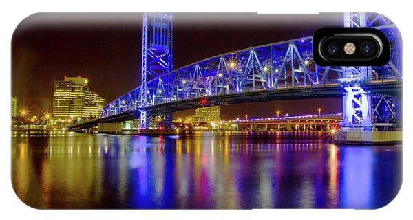 Blue Bridge 2 IPhone Case