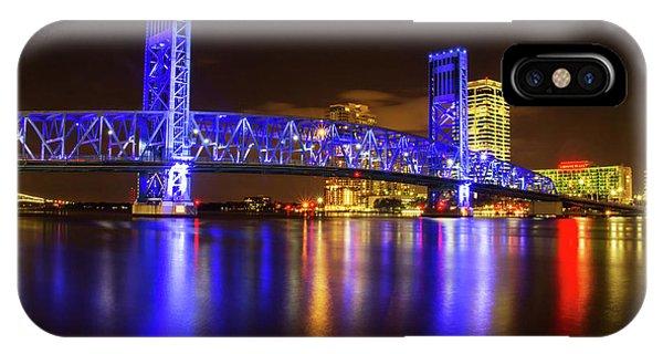 Blue Bridge 3 IPhone Case