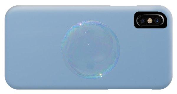 Blue Bubble IPhone Case