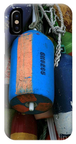 Blue Buoys IPhone Case
