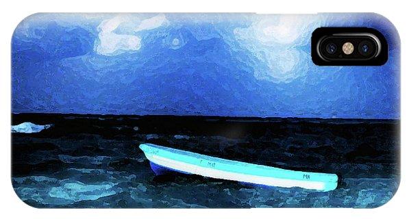 Blue Cancun IPhone Case