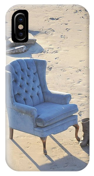 Blue Chair IPhone Case