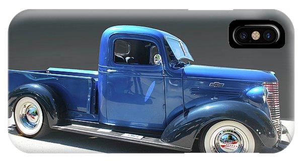 Blue Chev Truck IPhone Case