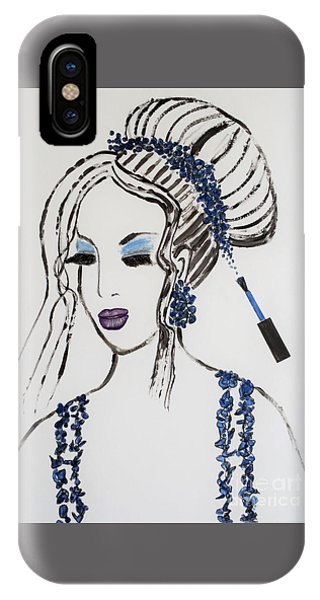 Blue Color Fan IPhone Case