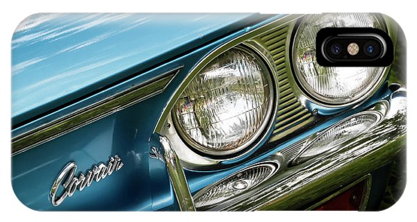 Corvair iPhone Case - Blue Corvair by Dennis Hedberg