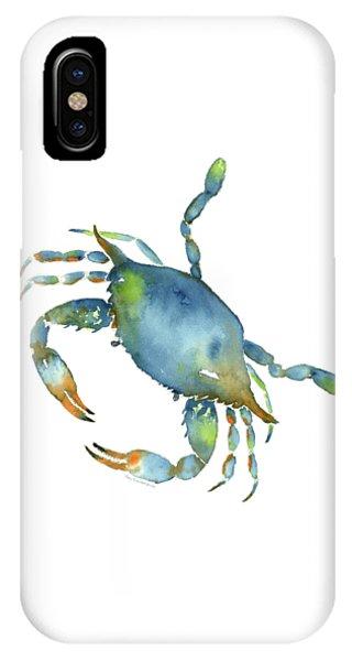 Blue Crab IPhone Case