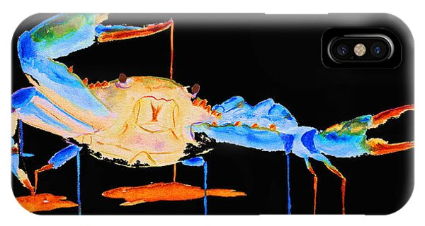 Blue Crab Two IPhone Case