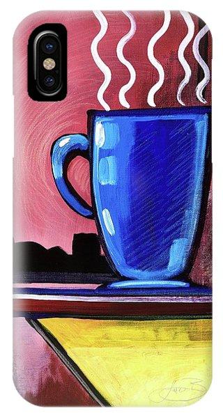 Blue Cup IPhone Case