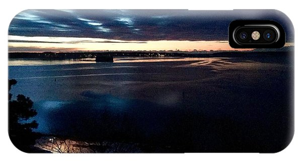 Blue Dawn On Casco Bay IPhone Case