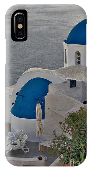 IPhone Case featuring the photograph Blue Domes by Jeremy Hayden