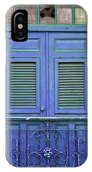 Blue Door IPhone Case