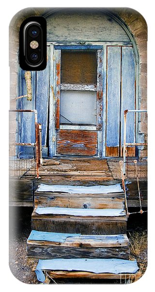 Blue Door Of Riley IPhone Case