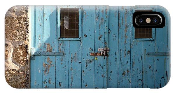 Blue Doors IPhone Case