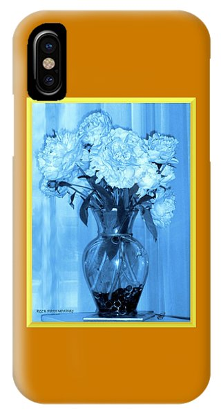 IPhone Case featuring the photograph Blue by Elly Potamianos