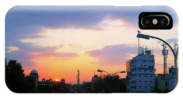 Blue Evening Sky IPhone Case