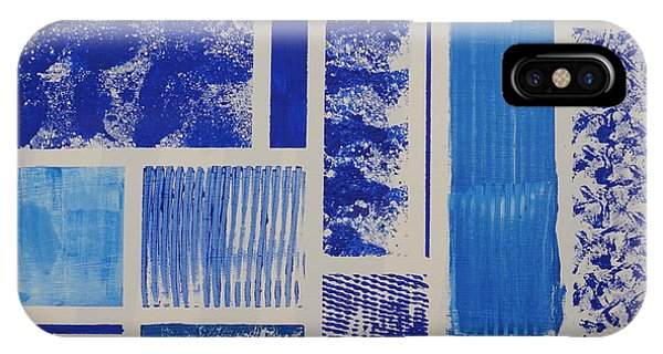 Blue Expo IPhone Case