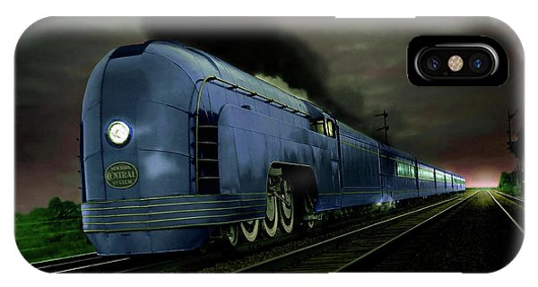 Blue Express IPhone Case