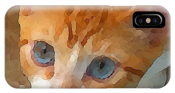 Blue Eyed Punk  IPhone Case