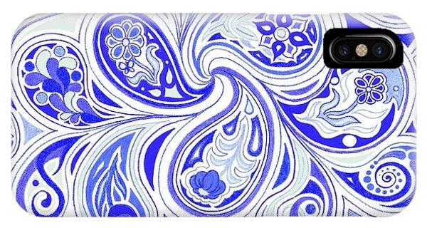 Blue Fantastic IPhone Case